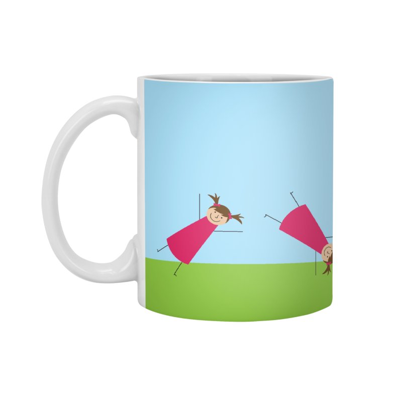 Cartwheels Accessories Mug by {mostly} Smiling Sticks