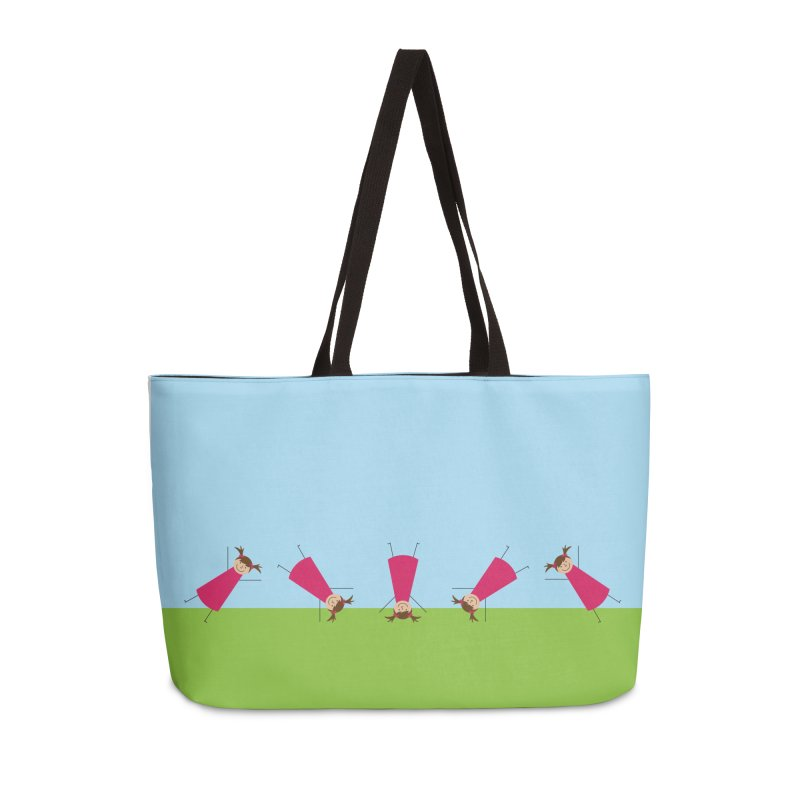 Cartwheels Accessories Weekender Bag Bag by {mostly} Smiling Sticks