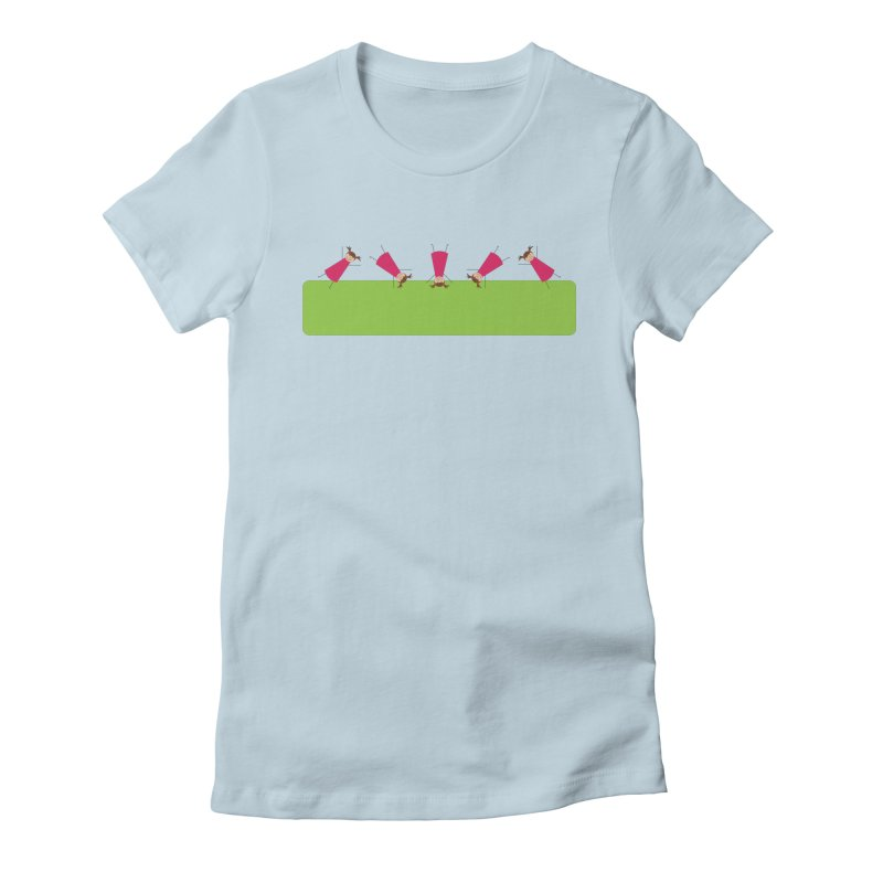 Cartwheels Women's T-Shirt by {mostly} Smiling Sticks