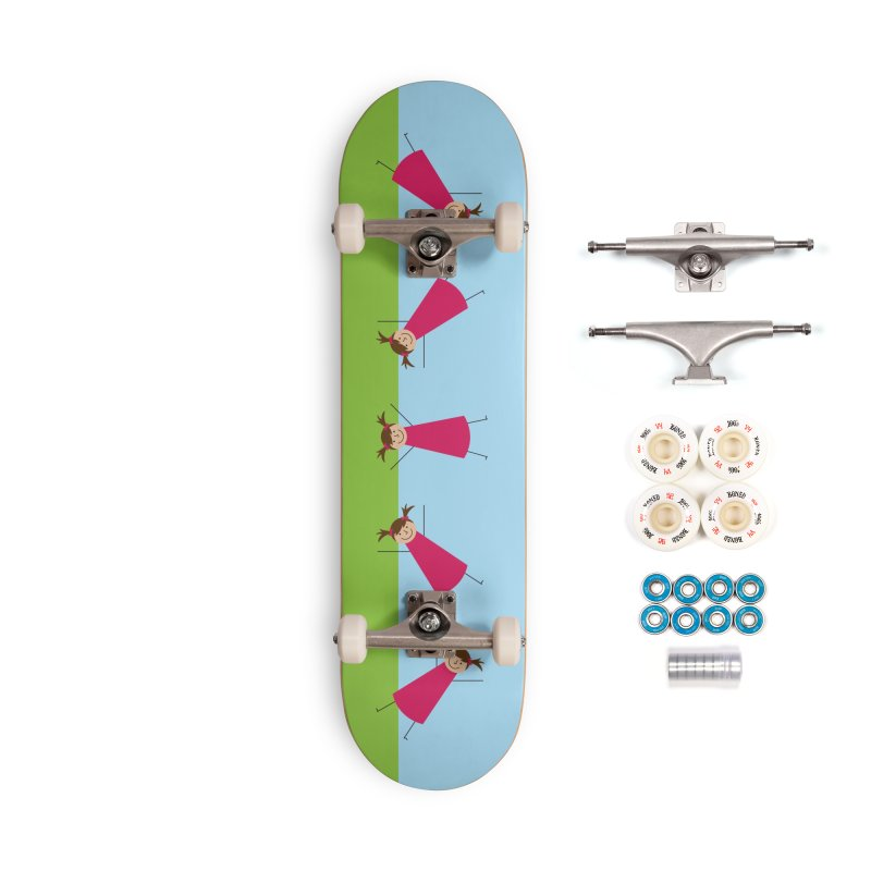Cartwheels Accessories Complete - Premium Skateboard by {mostly} Smiling Sticks