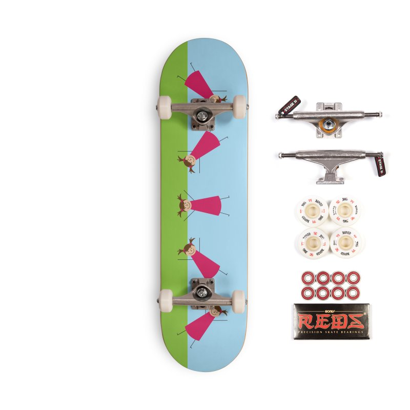 Cartwheels Accessories Complete - Pro Skateboard by {mostly} Smiling Sticks