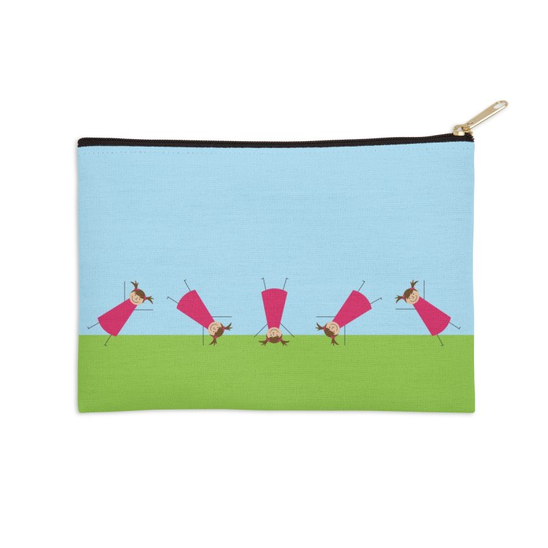 Cartwheels Accessories Zip Pouch by {mostly} Smiling Sticks