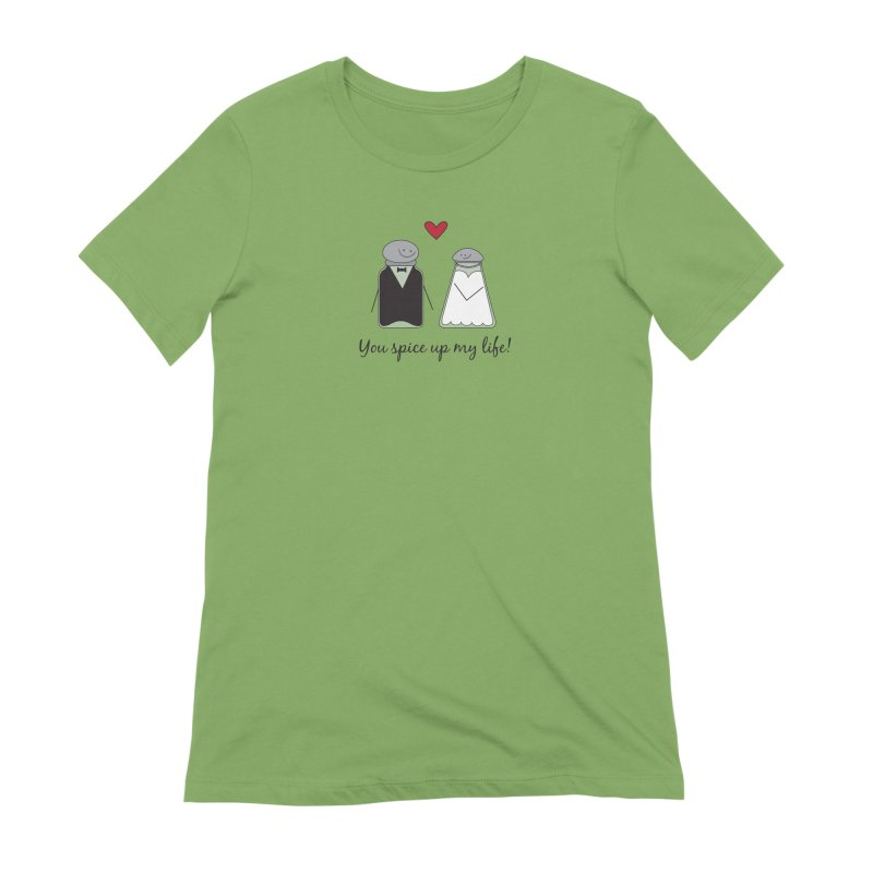 Spicy Women's Extra Soft T-Shirt by {mostly} Smiling Sticks