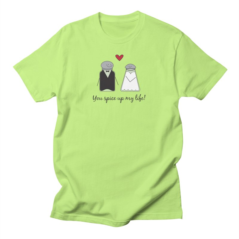 Spicy Men's T-Shirt by {mostly} Smiling Sticks