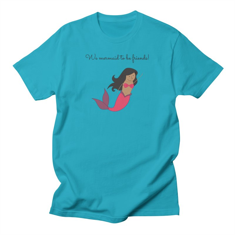 Mermaid Men's T-Shirt by {mostly} Smiling Sticks