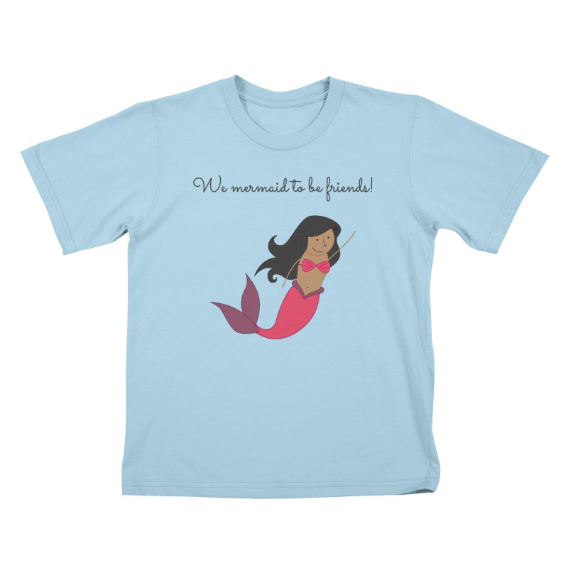 Mermaid Kids T-Shirt by {mostly} Smiling Sticks