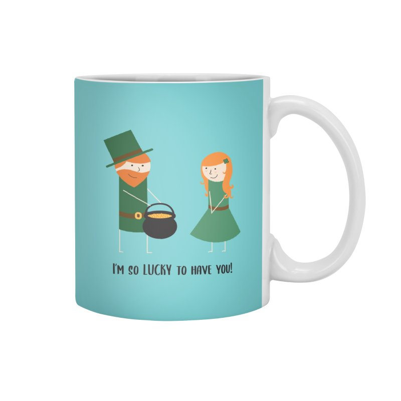 Lucky Accessories Mug by {mostly} Smiling Sticks
