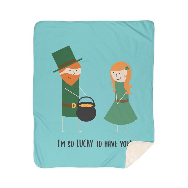 Lucky Home Blanket by {mostly} Smiling Sticks