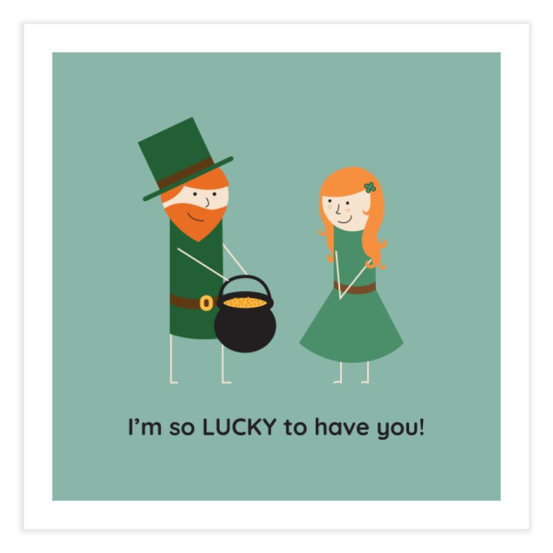 Lucky Home Fine Art Print by {mostly} Smiling Sticks