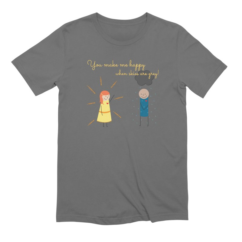 Sunshine Men's Extra Soft T-Shirt by {mostly} Smiling Sticks