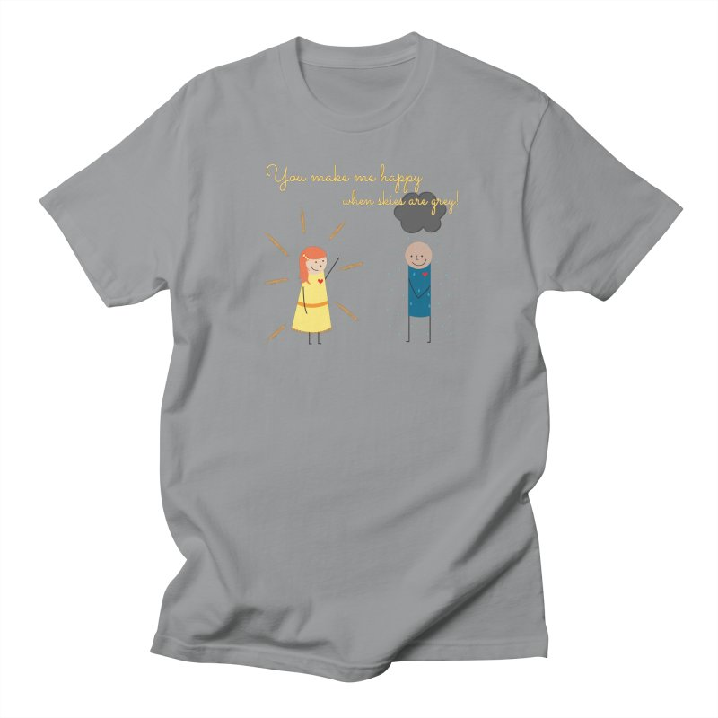 Sunshine Women's Regular Unisex T-Shirt by {mostly} Smiling Sticks