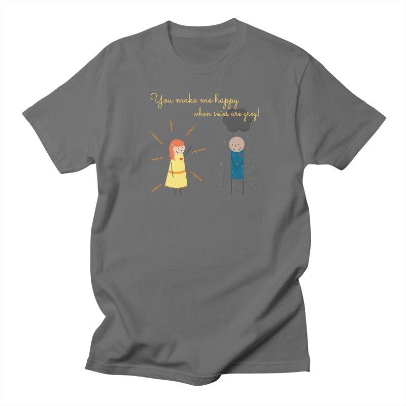 Sunshine Men's T-Shirt by {mostly} Smiling Sticks