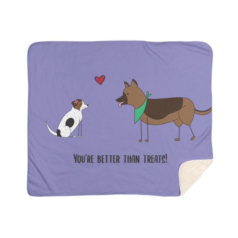 Better Than Treats Home Blanket by {mostly} Smiling Sticks