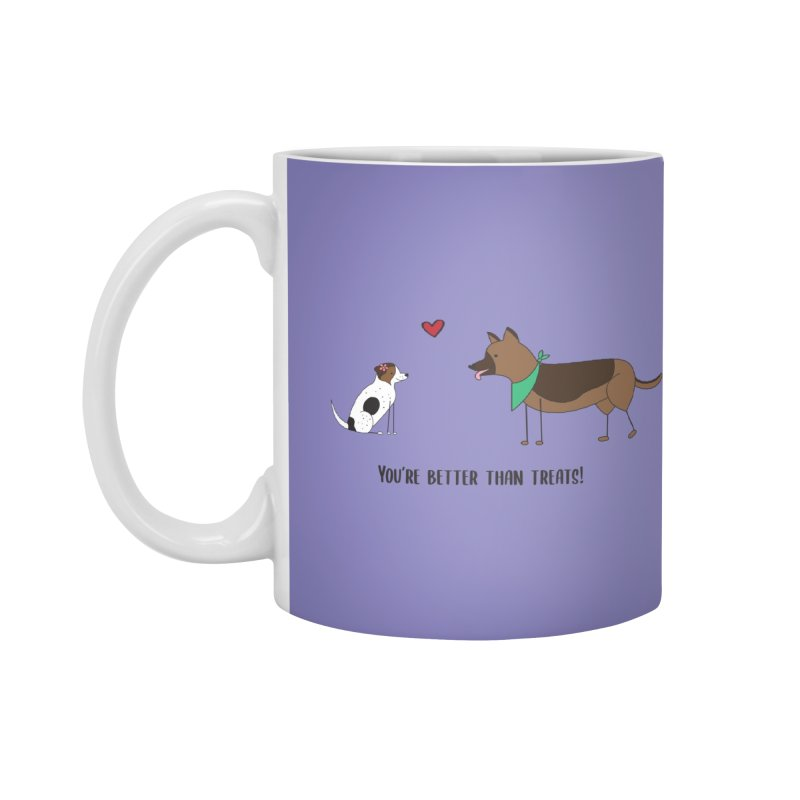 Better Than Treats Accessories Mug by {mostly} Smiling Sticks