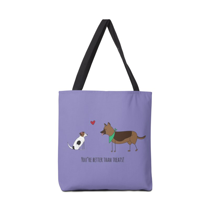 Better Than Treats Accessories Tote Bag Bag by {mostly} Smiling Sticks