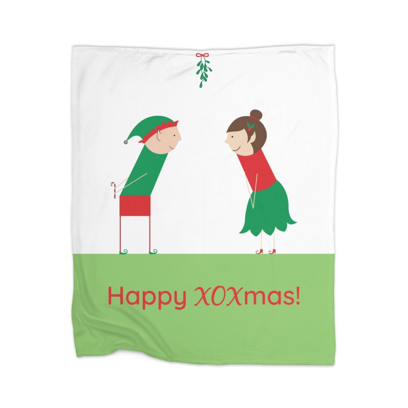 XOXmas Home Blanket by {mostly} Smiling Sticks