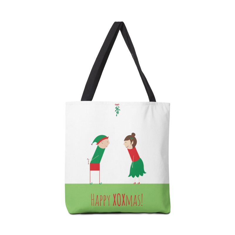 XOXmas Accessories Tote Bag Bag by {mostly} Smiling Sticks
