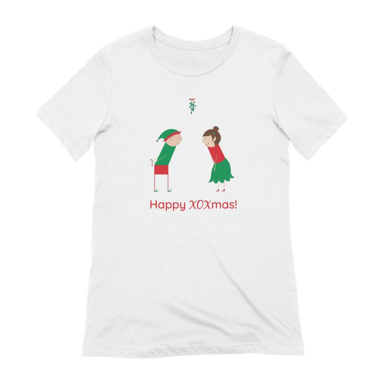 XOXmas Women's Extra Soft T-Shirt by {mostly} Smiling Sticks