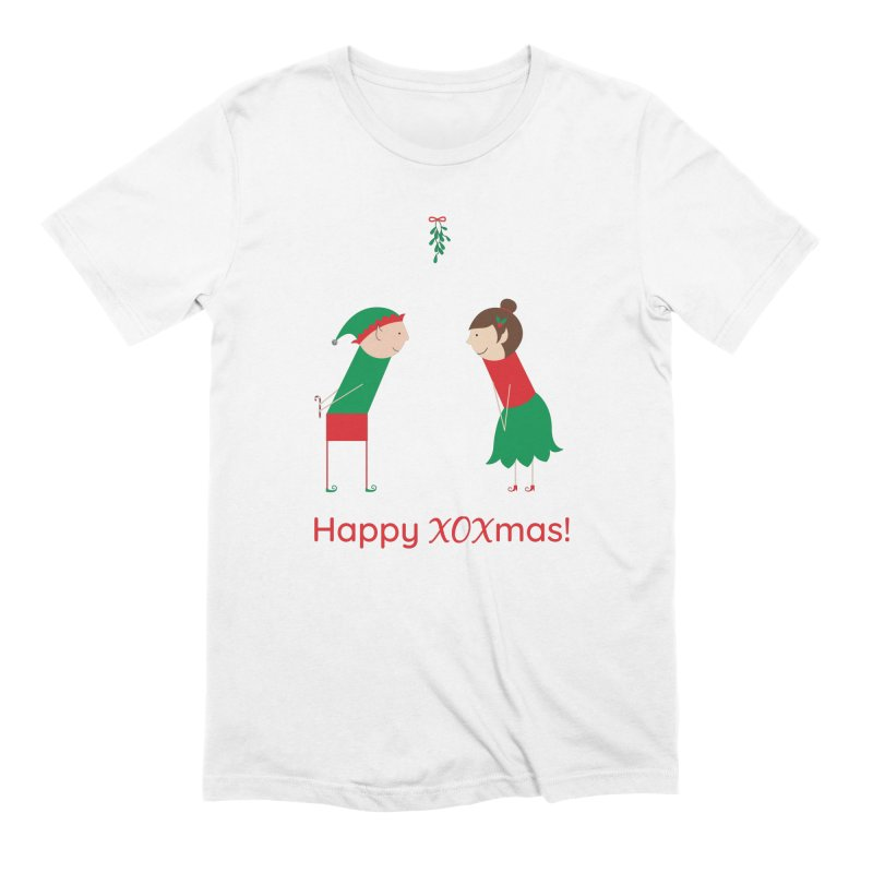 XOXmas Men's Extra Soft T-Shirt by {mostly} Smiling Sticks