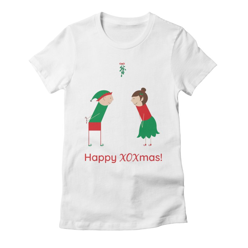 XOXmas Women's T-Shirt by {mostly} Smiling Sticks