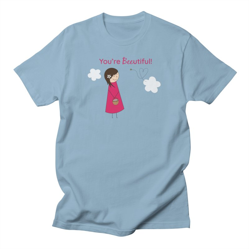 Bee-utiful Men's T-Shirt by {mostly} Smiling Sticks