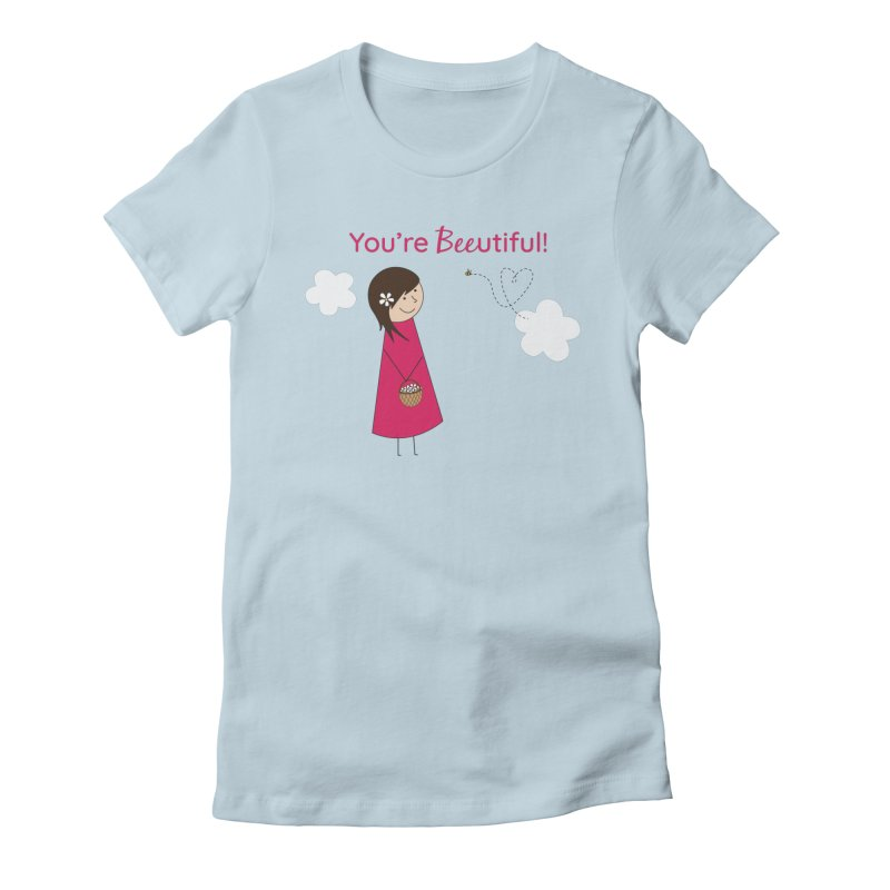 Bee-utiful Women's T-Shirt by {mostly} Smiling Sticks