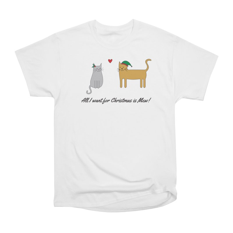 All I Want For Christmas Men's T-Shirt by {mostly} Smiling Sticks