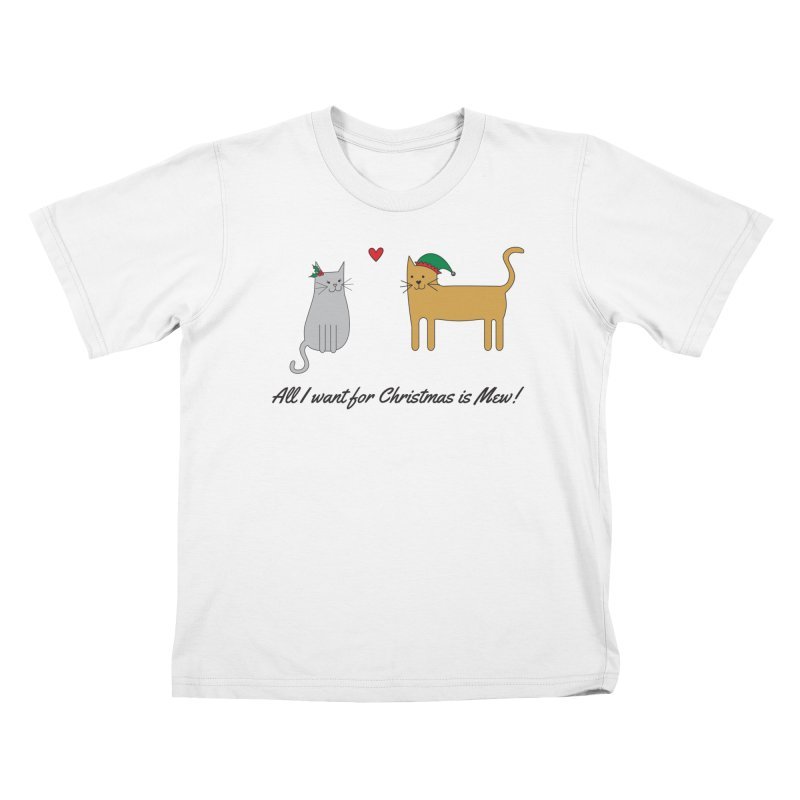 All I Want For Christmas Kids T-Shirt by {mostly} Smiling Sticks