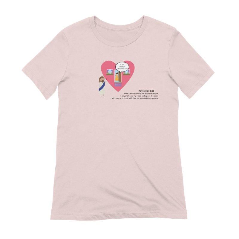 Hi Jesus Women's Extra Soft T-Shirt by {mostly} Smiling Sticks