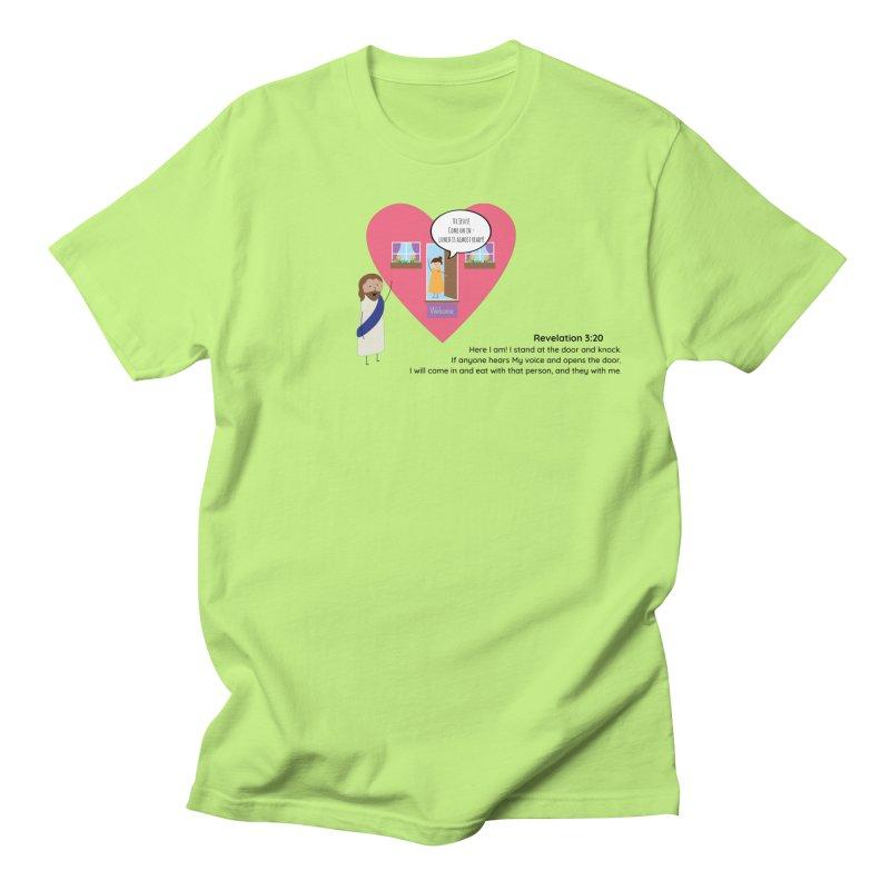 Hi Jesus Women's Regular Unisex T-Shirt by {mostly} Smiling Sticks