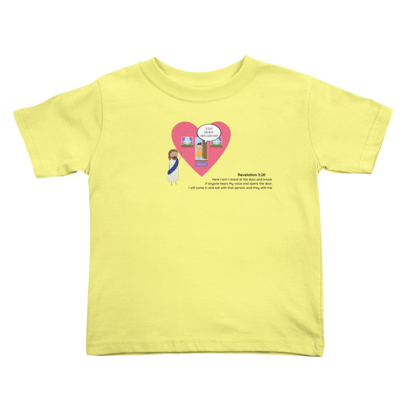 Hi Jesus Kids Toddler T-Shirt by {mostly} Smiling Sticks