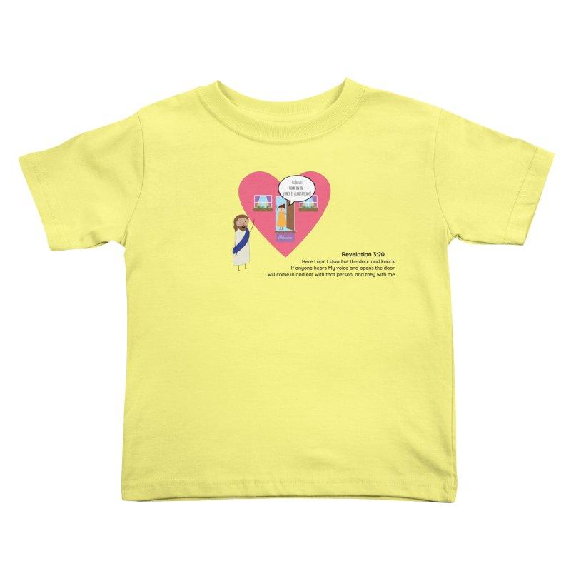 Hi Jesus Kids Toddler T-Shirt by {mostly} Smiling Sticks
