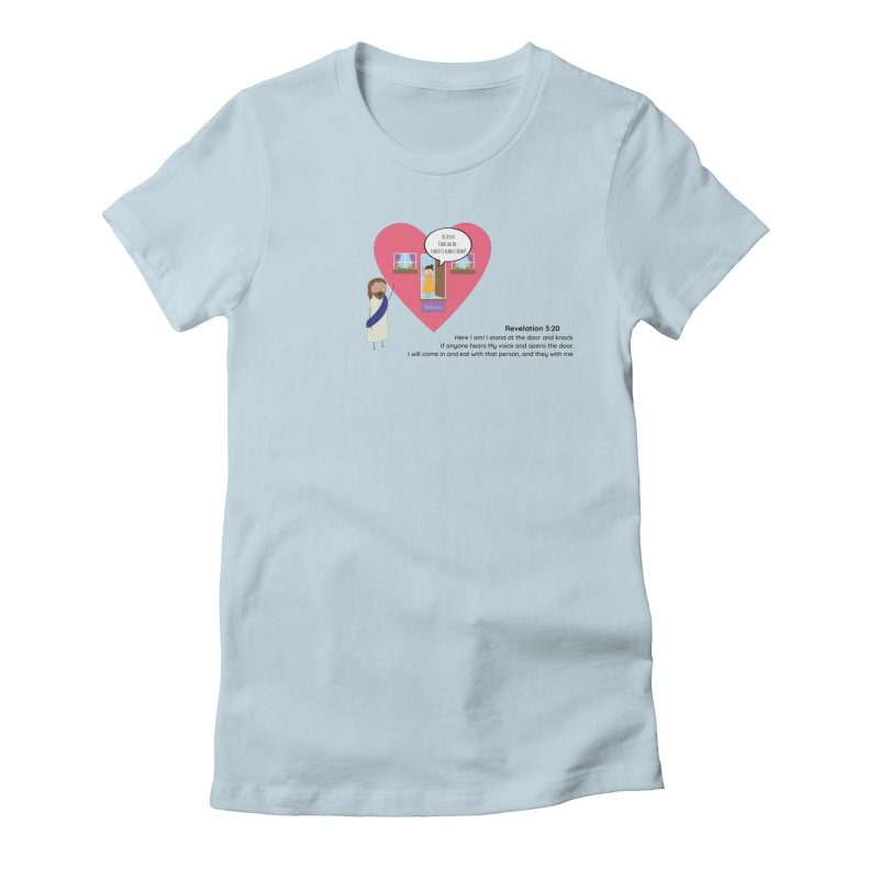 Hi Jesus Women's T-Shirt by {mostly} Smiling Sticks