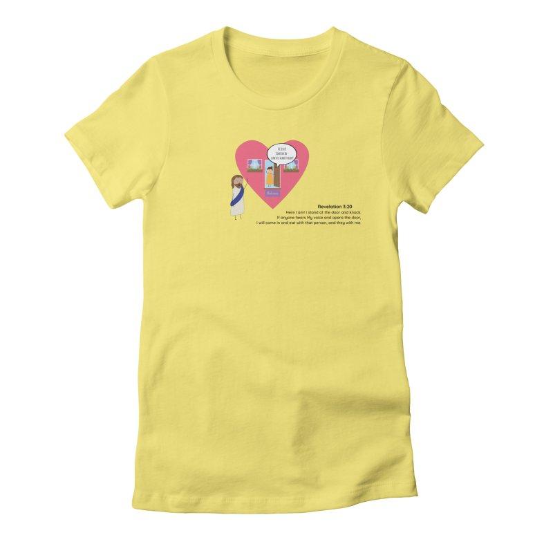 Hi Jesus Women's T-Shirt by {mostly} Smiling Sticks