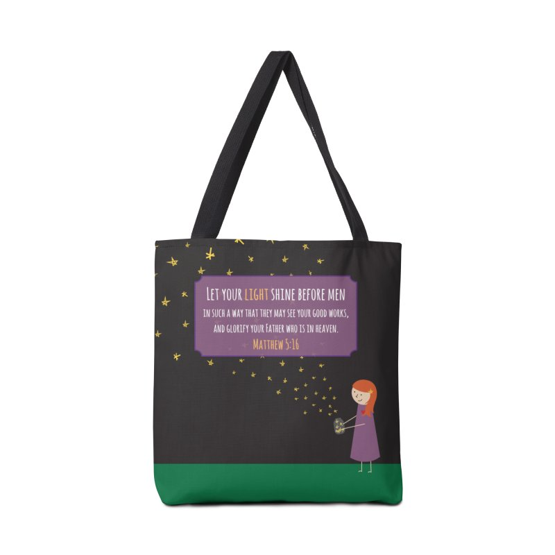 Fireflies Accessories Tote Bag Bag by {mostly} Smiling Sticks