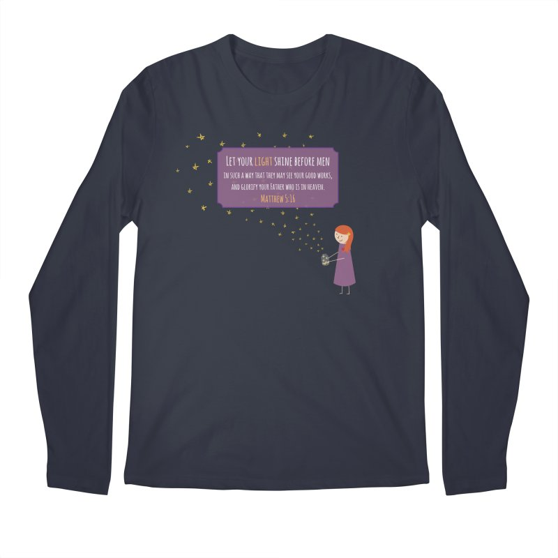 Fireflies Men's Longsleeve T-Shirt by {mostly} Smiling Sticks