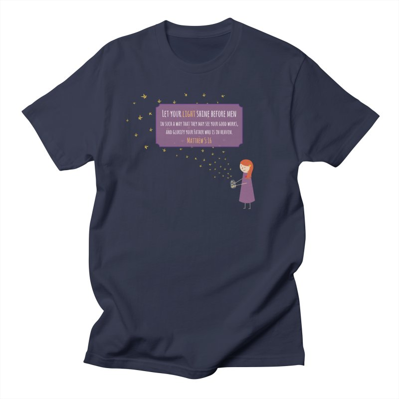 Fireflies Women's Regular Unisex T-Shirt by {mostly} Smiling Sticks