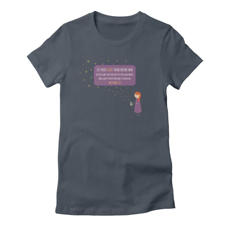 Fireflies Women's T-Shirt by {mostly} Smiling Sticks