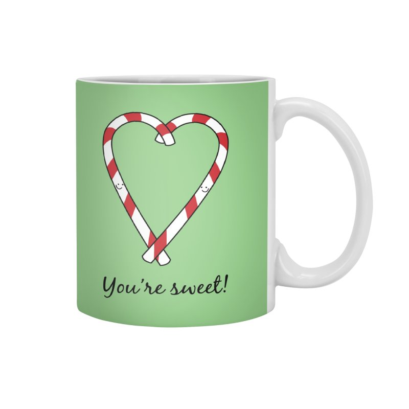 Candy Canes Accessories Mug by {mostly} Smiling Sticks