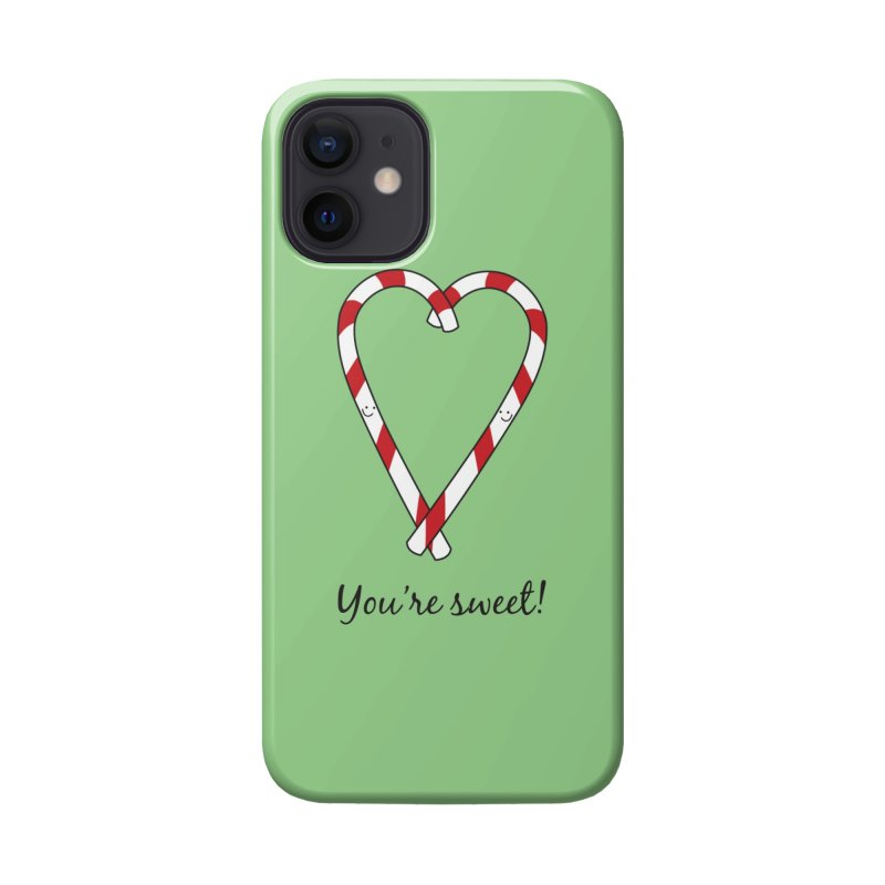 Candy Canes Accessories Phone Case by {mostly} Smiling Sticks
