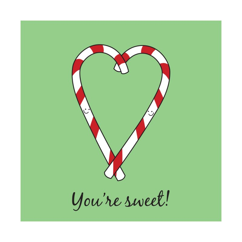 Candy Canes Home Fine Art Print by {mostly} Smiling Sticks