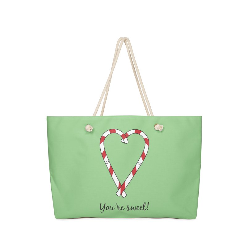 Candy Canes Accessories Bag by {mostly} Smiling Sticks