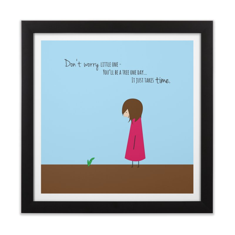 Encourage One Another Home Framed Fine Art Print by {mostly} Smiling Sticks