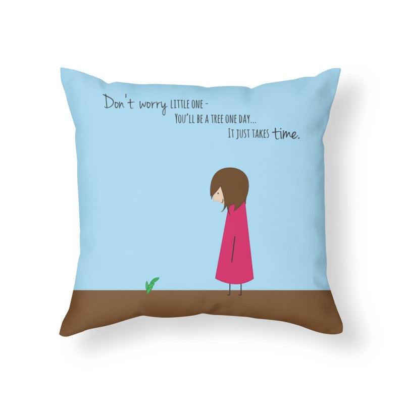 Encourage One Another Home Throw Pillow by {mostly} Smiling Sticks