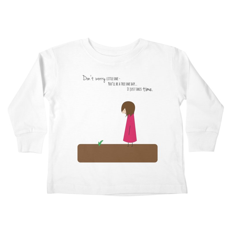 Encourage One Another Kids Toddler Longsleeve T-Shirt by {mostly} Smiling Sticks