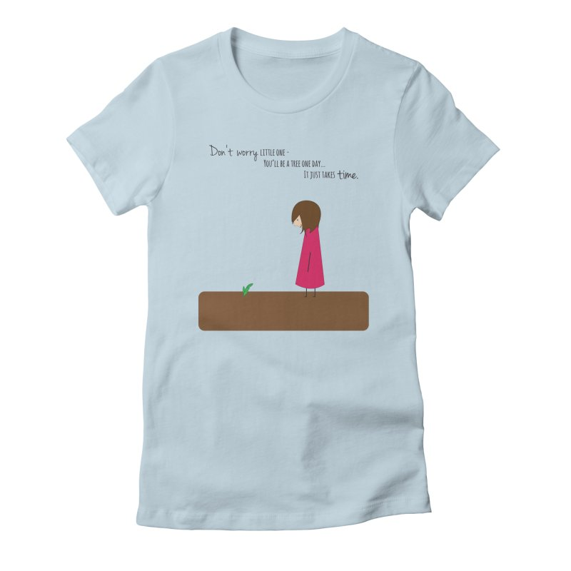 Encourage One Another Women's Fitted T-Shirt by {mostly} Smiling Sticks