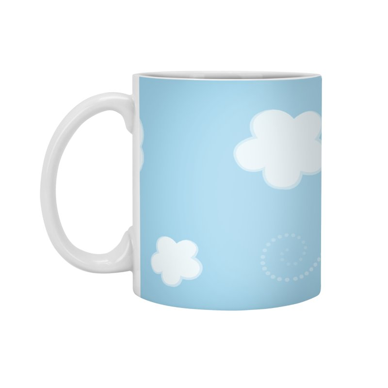 Paper Aeroplane Pilot Accessories Mug by {mostly} Smiling Sticks