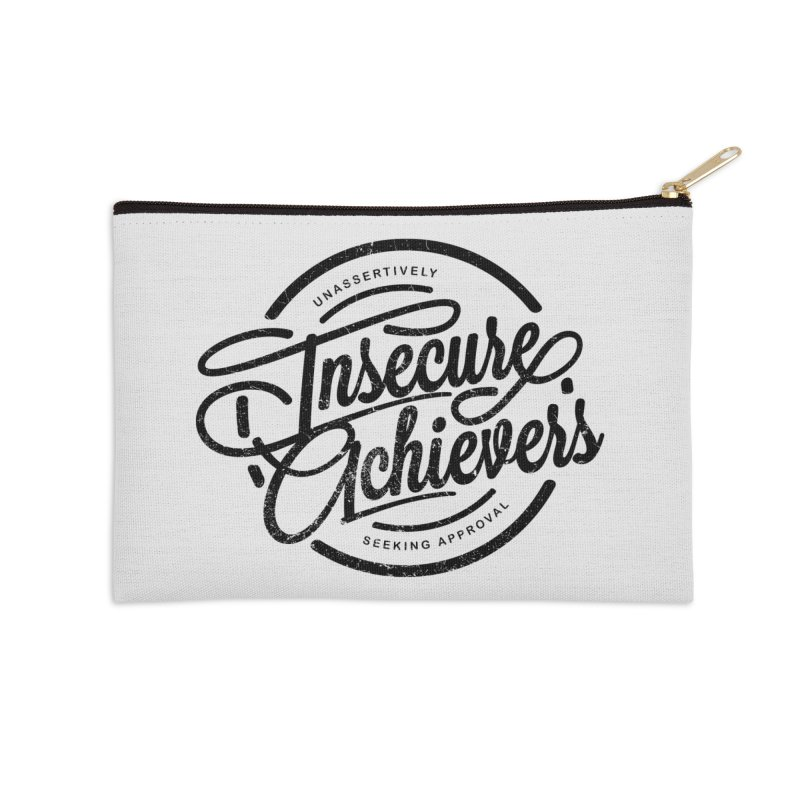 Insecure Achievers Accessories Zip Pouch by smith's Artist Shop