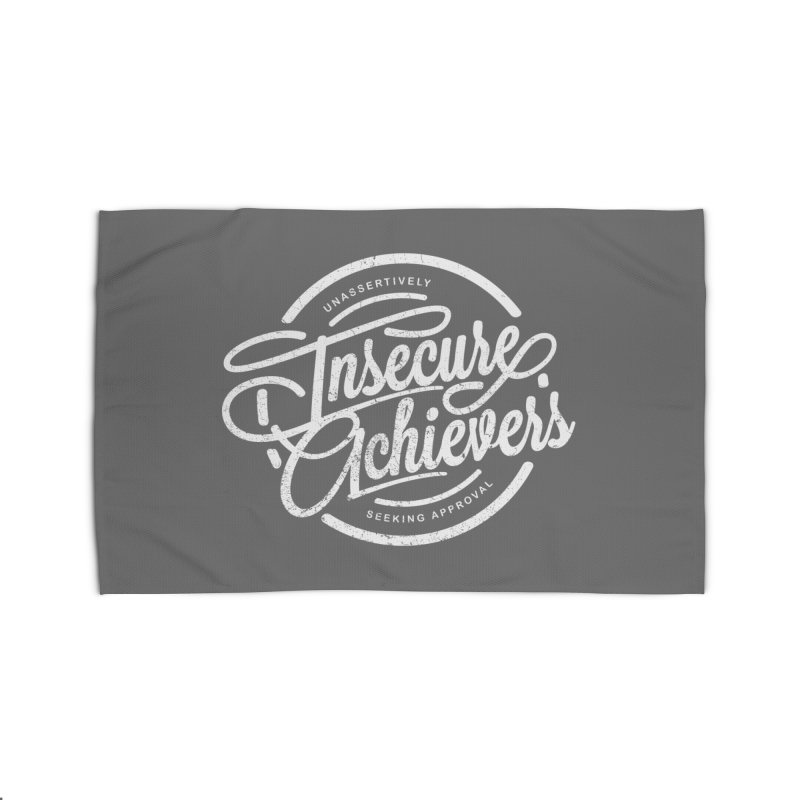 Insecure Achievers Home Rug by smith's Artist Shop