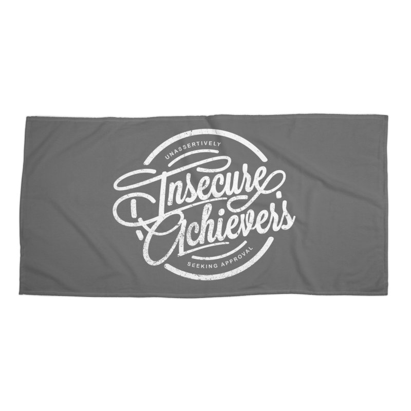Insecure Achievers Accessories Beach Towel by smith's Artist Shop